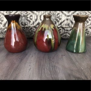 Pier 1 | Set of 3 Mini Vases